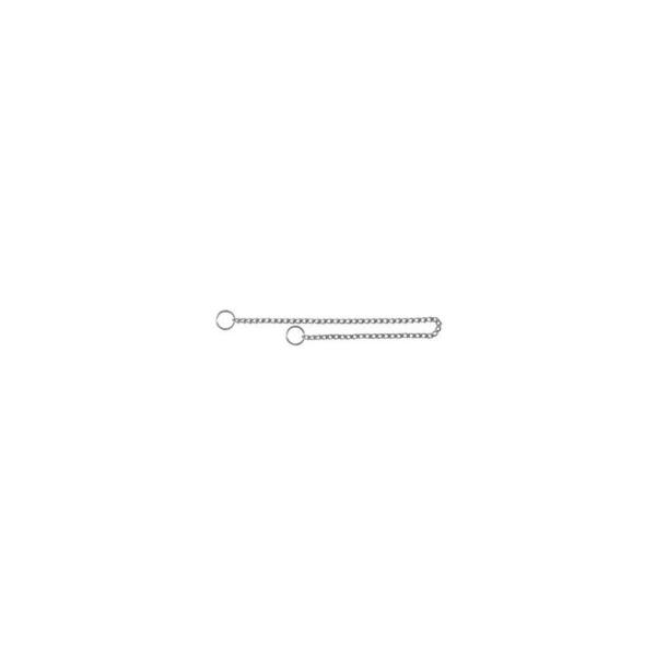 Kvælerhalsbånd hund, kæde 60 cm / 2,5 mm
