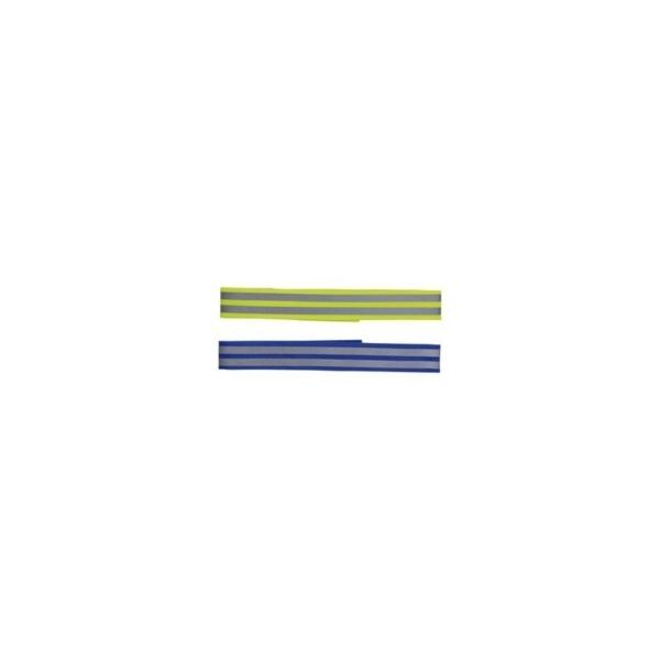 Refleksbånd med velcro M 38 cm. / 19 mm.