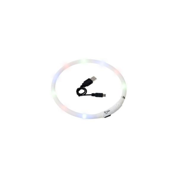 Visio light LED Hvid, hals størrelser fra 20-75 cm.