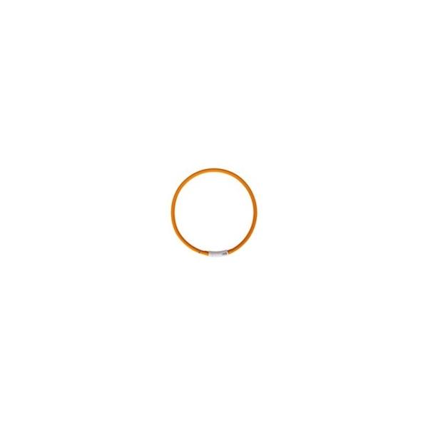 Visio Light m. Batteri, Orange, hals størrelser fra 20-75 cm.