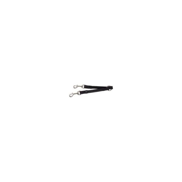 ROGZ Utility M Splitter Sort 16 mm. Med indvævet refleks for synlighed i mørket.