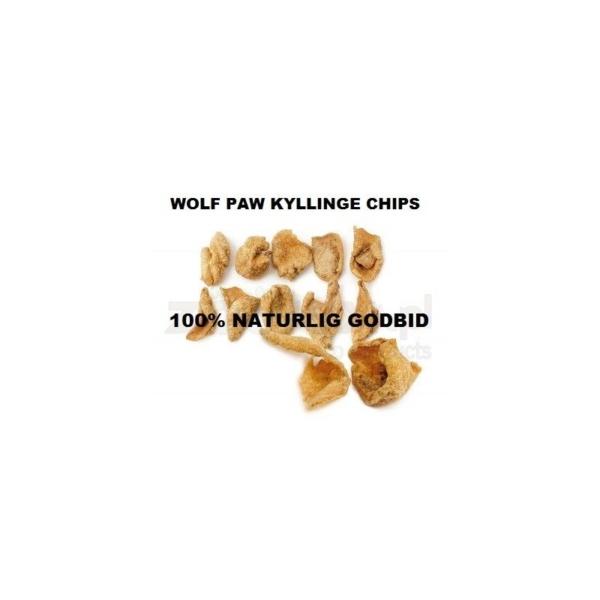 Wolf Paw Kyllinge chips 200 g. animalske biprodukter fra fjerkræ