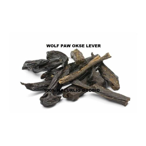 Wolf Paw Okse Lever 200 gr. lever fra kvæg nænsomt tørret