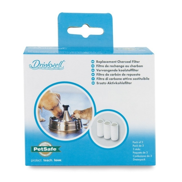 Drinkwell Charcoal Filter - 3pak for Drinkwell 360 MPD360SS-EU-45