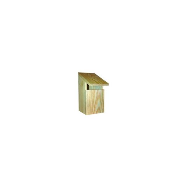 Vildfugle hus træ S 13 x 18 x 26 cm. med åbning