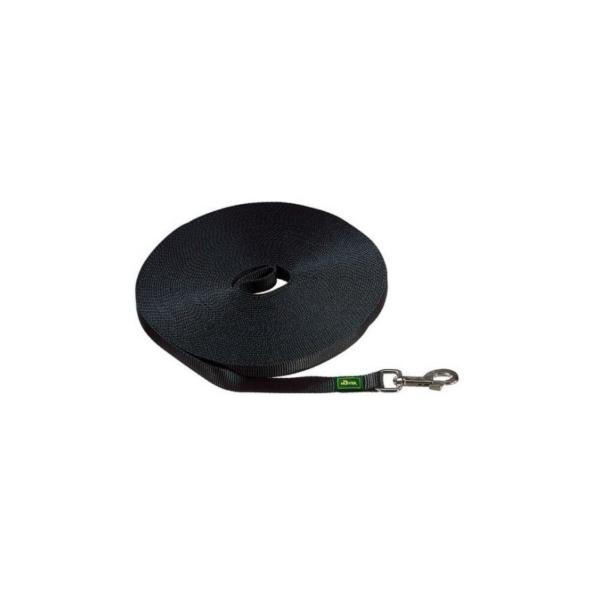 Hunter sporline Nylon. 20 mm./ 5 M. Sort
