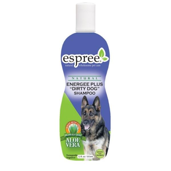 ESPREE Energee Plus Shampoo 355 ml. Til de mest beskidte hunde.