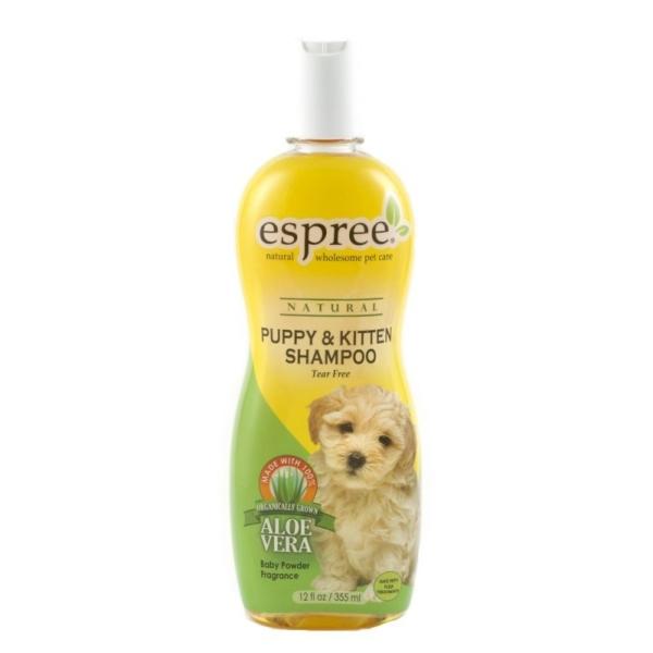 ESPREE Puppy & Kitten Shampoo 355 ml. Allergivenlig og tårefri