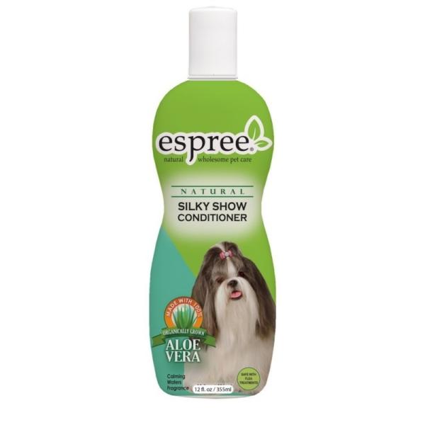 ESPREE Silky Show Long Coat Conditioner 355 ml. Giver pelsen et let og flot udseende.