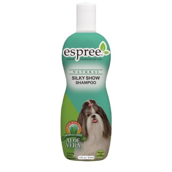 ESPREE Silky Show Long Coat Shampoo 355 ml. Gør kæmning og børstning til en leg!