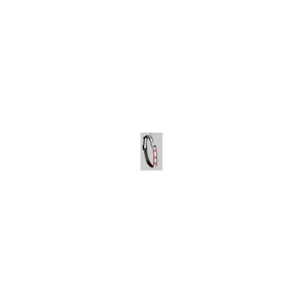 Halsbånd Nylon Refleks med LED lys, Sort 20 mm x 40-55 cm. Karlie