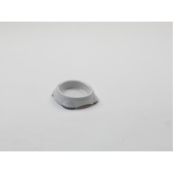Smarty Bowl Kat, plastik, Hvid