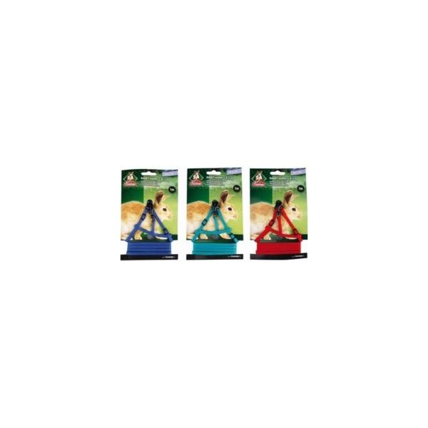 Sele gnaver. Kaninsele med line, Nylon, 1 M. Diverse farver