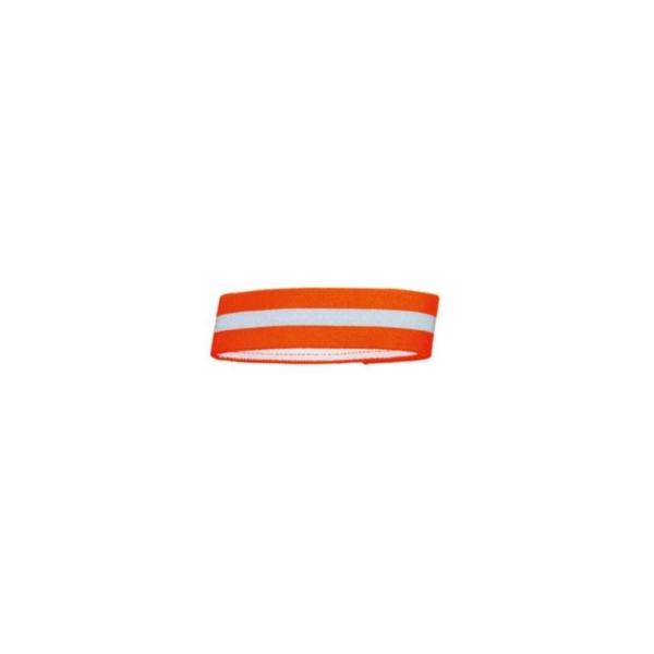 Hunter Refleksbånd S 35 cm. Orange. Med velcrolukning