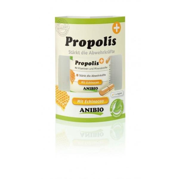 Anibio Propolis, kapsler, 60 stk. til at styrke immunitet og forbedre den generelle trivsel