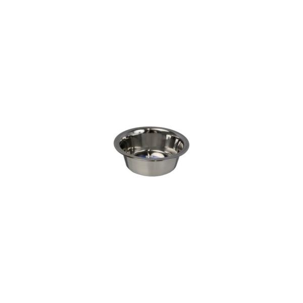 Hundeskål Rustfri 250 ml. 10 cm.