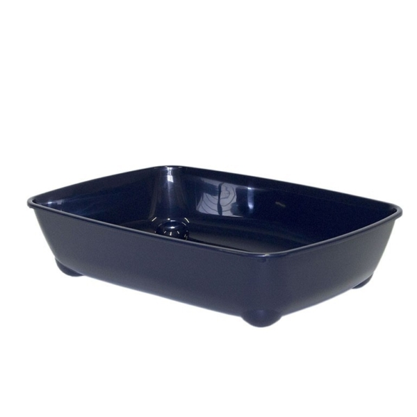 ARIST O TRAY LARGE ROYAL BLUE. Moderna Products