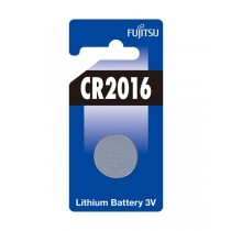 Fujitsu CR2016 3V lithiumbatteri - 1 stk.