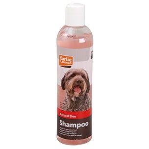 NATURAL DEO SHAMPOO 300 ML. Karlie Flamingo. Fjerner lugt fra hud og pels.