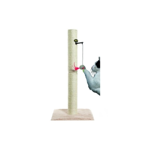 Kradselegetøj. Skrues på kradsestamme. Karlie Flamingo