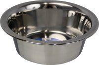 Hundeskål Rustfri 2600 ml. 23 cm.