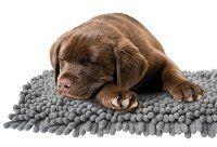 Fall dirt catcher grå microfiber tæppe. 146x100cm.