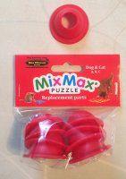 Klods til Mixmax, plast, rød. Nina Ottosson.