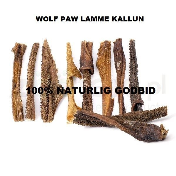 Wolf Paw, Lamme Kallun. Naturlig godbid til hund.