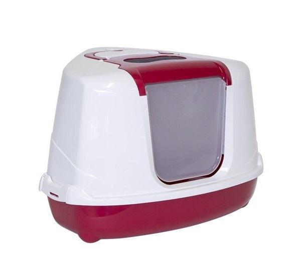 Flip cat corner Stone red. Moderna Products.
