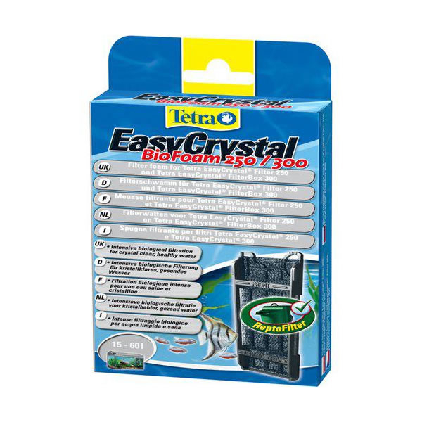 Teratec easycrystal biofoam c250 og c300 filter