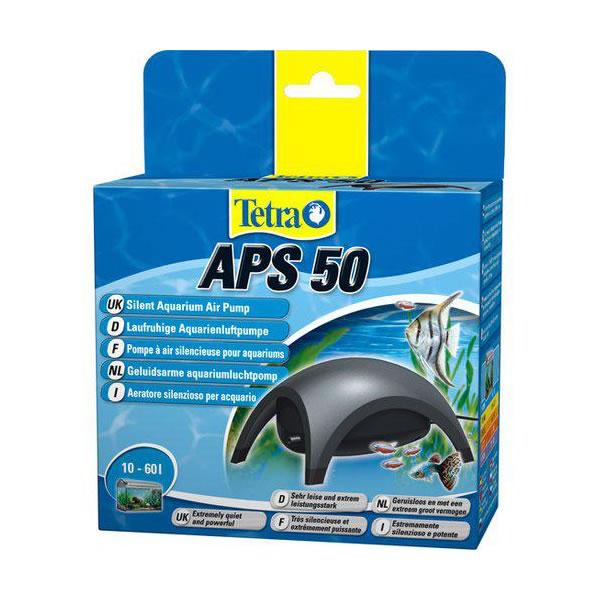 støjsvag luftpumpe til akvarie